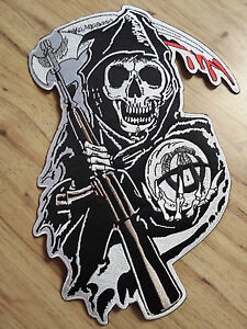 Sons Of Anarchy Official Licensed Rocker & Jacket Patch Sets *BUY 1 GET 1 FREE*