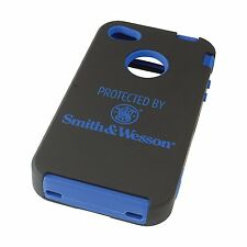 Allen iPhone 4/4S Phone Case  Black/Blue SMITH & WESSON 21012
