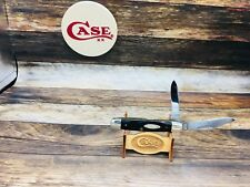 Case 1977 (3 Dots) 62055 Equal End Jack Knife With Jigged Bone Handles-Mint-#10