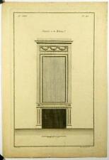 Gravure de Pelletier d'ap Boucher,Cheminée moderne,n123