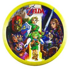 The Legend Of Zelda Round Edible Birthday Cake Topper Frosting Sheet Decoration