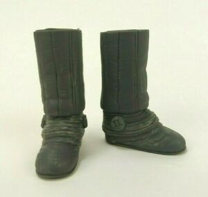 """1/6 Scale Hasbro LFL 2002 Star Wars Princess Leiah Boots For 11"""" Action Figure"""
