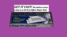 Cap-M-Quik + Tamper size 3 Capsule Filler Complete Kit CapMQuik Capsule Machine