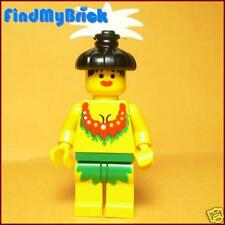 PM1c Lego Pirates Islander - Queen Kahuka Minifigure - 6292 NEW