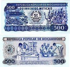 Mozambique AFRIQUE Billet 500 METICAIS 1980 P127 AA NEUF UNC