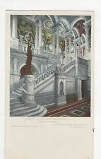 USA, Library Of Congress, Washington D.C. Grand Stairway Postcard, A734