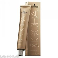 SCHWARZKOPF IGORA ROYAL ABSOLUTES NEW PACKAGING ANTI-AGE HAIR COLOR CREAM 60ml