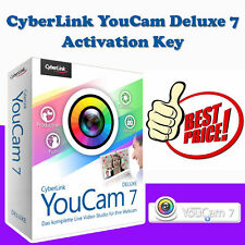 CyberLink YouCam Deluxe 7 | Activation Key | Latest Full Version | Download