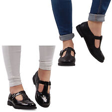 Flat (less than 0.5') Mary Janes Formal Shoes for Women