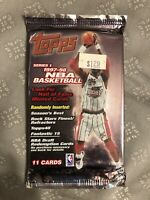1  Pack NBA 1997-1998 TOPPS Series 1 Factory Sealed Foil Pack Unopened