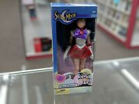 """NIB Sailor Moon SAILOR MARS 11.5"""" Deluxe Adventure Doll Irwin Toys 2000"""
