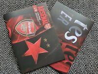 Arsenal v Slavia Prague Europa League QUARTER FINAL Programme 8/4/21 IN STOCK!!!