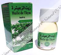 Huile de Thym (Macérât Huileux) 100% Naturelle 30ml Thyme Oil, Aceite de Tomillo