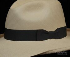 Hat band 17 - black- Men Ladies Sun Panama Hat fedora Replacement strap