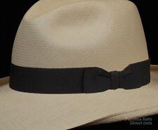 Hat band 17 - black- Men Ladies Sun Panama Hat fedora Replacement strap
