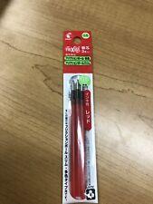 3 Refills for Multicolor type pen 0.5mm Gel Roller ball pen, Red