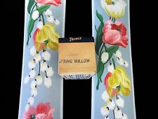 "Vintage 1930's Spring Willow Pink Pussy Willow Trimz 3"" Wallpaper Borders Mint"
