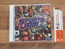 Dreamcast:    SPORTS JAM    japan