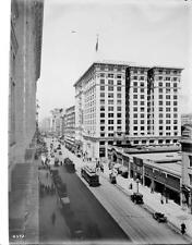 Photo. ca 1914. Los Angeles, California. Sky View Broadway - N from 8th