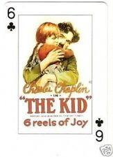 Charlie Chaplin - The Kid -  Euro Playing Card  Have a Look!