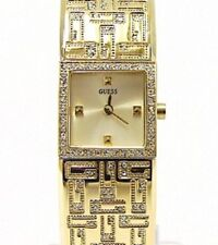 GUESS U12522L1 Women's Gold-tone Stainless Steel Bangle Bracelet Watch 18x18mm
