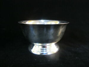 "SHERIDAN Taunton Silversmith Silverplate 4"" Paul Revere Small Bowl ""Betty"""