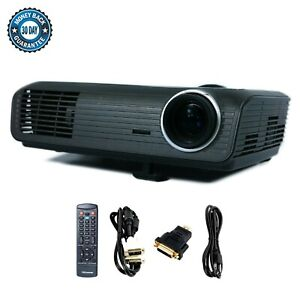 Used Optoma EP721 DLP Portable Projector HD 1080i HDMI-adapter w/Remote