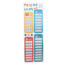 99 Multiplication Table Math Toy Wall Stickers Kids Educational Murals YU