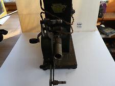 Antique Keystone Kinescope 16MM E 32 Reel to Reel Movie Projector Hand Crank JS