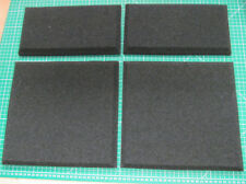 Foam grilles to fit Naim SBL, full set (4). Driver rebates and chamfered edges.