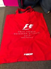 F1 Monza Tote Bag (Red)