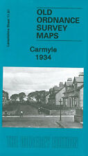 OLD ORDNANCE SURVEY MAP CARMYLE 1934