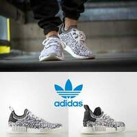 Adidas Unisex Original NMD R2 Runner White White Black BZ0219 Size 4-11 Limited