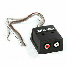 Kicker KISLOC 2-Channel K-Series Speaker Cable To RCA Adapter with Line out Converter
