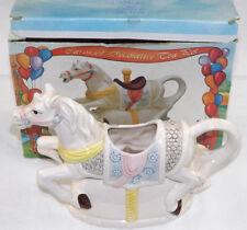 Leonardo Novelty Teapot Carousel Horse Merry Go Round Collectible 'Missing Lid'