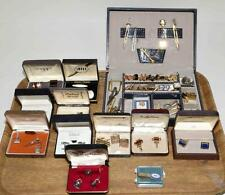 ASSORTED GENTLEMAN'S COSTUME JEWELRY. Some gold filled and silver jew... Lot 107