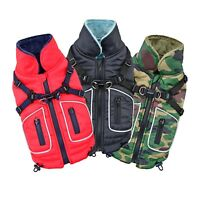 Puppia Life® Pioneer Winterdog Jacket [PLRD-VT9343] - 3 Colors / 5 Sizes