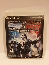 WWE SmackDown vs. Raw 2011 Limited Edition Sony PlayStation 3 - Free Shipping
