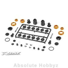 Xray T4 Alu Shock Absorber - Set - Orange (2) - XRA308307-O