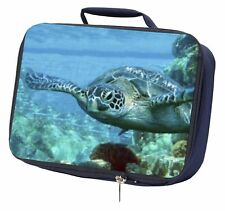More details for turtle by coral navy insulated school lunch box bag, af-t20lbn