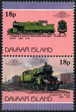 1921 LSWR Class H16 4-6-2T (London & South Western) Train Stamps (Davaar)