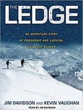 The Ledge Unabridged AUDIO BOOK MP3 CD tragic mountain climb Mount Rainier death