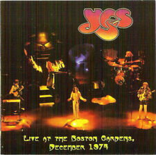 """YES """"Live At The Boston Gardens, December 1974"""" (RARE CD)"""