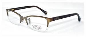 COACH HC 5046 LEIGH 52/18 AUTHENTIC RX EYEGLASSES