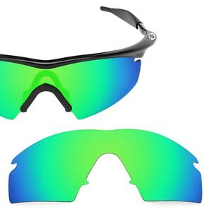 Fit&See Polarized Green Replacement Lenses for Oakley M Frame Strike