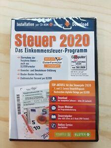 STEUER 2020 Aldi Steuersoftware Steuererklärung CD-Rom incl. Download NEU