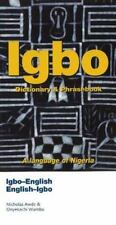 IGBO Nigerian to English Dictionary Paperback Phrases English to Igbo