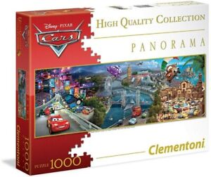 Clementoni Puzzle 1000pc - Disney Cars 3 Panorama