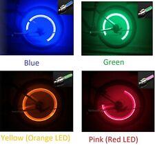 (1)One Pcs FIREFLY Tire Valve Stem CAP LED Light Lamp for Bike Bicycle Car Wheel