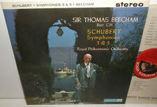ASD 345 Schubert Symphonies Nos 3 & 5 RPO Sir Thomas Beecham S/C